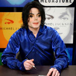 Michael Jackson, Virgin Megastore autograph session