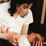 Michael Jackson and Prince Jackson, OK magazine