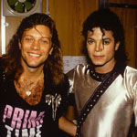 Michael Jackson and Bon Jovi