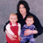 Michael Jackson and his kids