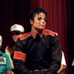 Michael Jackson, Superbowl Press Conference