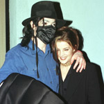 Michael Jackson and Lisa Marie Presley, 1998