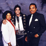 Michael Jackson and his parents