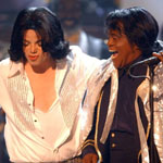 Michael Jackson and James Brown