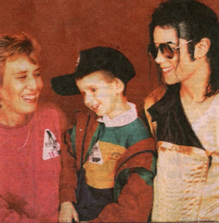 Michael with Nicholas and his mom