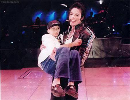 Michael on stage with Daniele