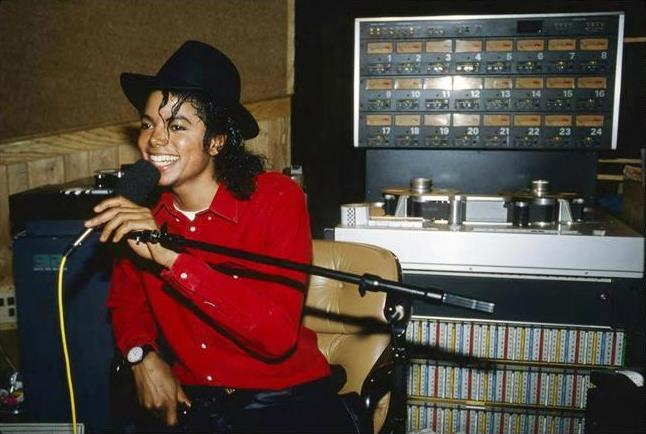 В студии с Майклом Джексоном