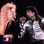 Шерил Кроу и Майкл на сцене