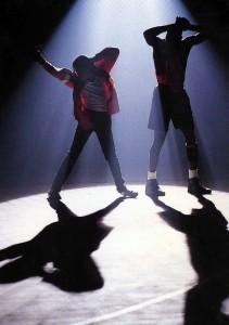 """Майкл Джексон и Майкл Джордан в """"Jam"""""""
