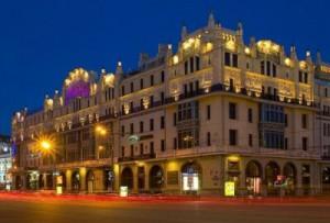 Отель Метрополь, где жил Майкл Джексон