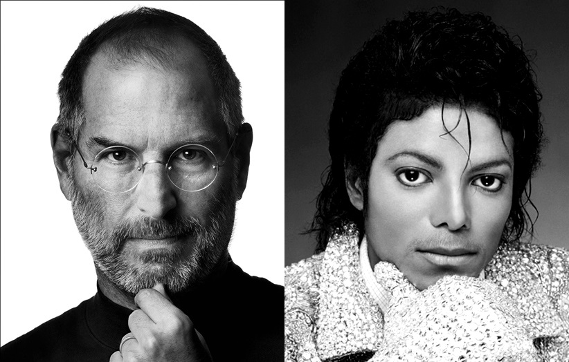 The Formula of Genius: Michael Jackson and Steve Jobs