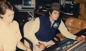 Брэд Сандберг и Майкл Джексон