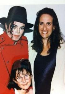 Майкл Джексон и Акаша Ричмонд с дочерью