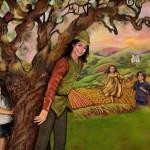 Майкл и  дети в образе Питера Пэна