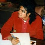 Майкл рисует Питера Пэна