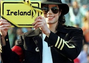 Майкл Джексон Ирландия