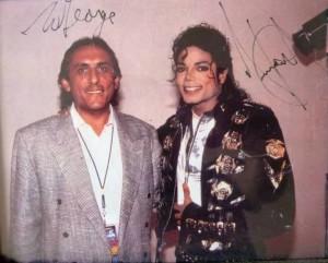 Майкл и Джордж во время Bad-тура