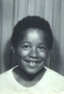 Люк Дэвис в пять лет