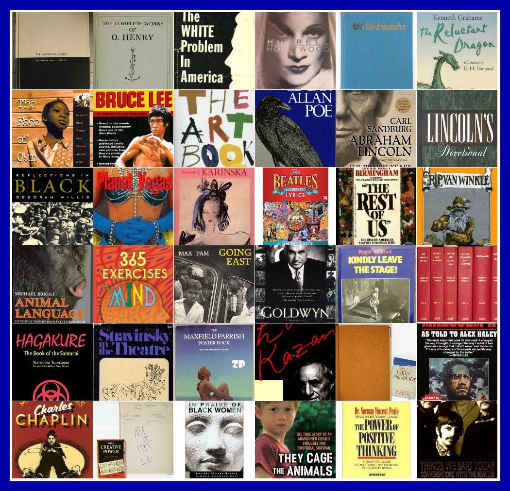 Библиотека Майкла Джексона: путешествие по кругу чтения