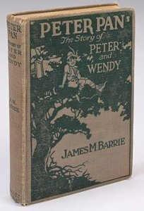 Julien's auction: 1911 Edition of 'Peter Pan' This copy of J.M. Barrie's classic book is estimated at $50 – $100.