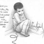 Майкл Джексон детство рисунок