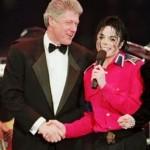 Майкл Джексон Билл Клинтон