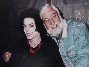 Майкл и Баз Коэн в 1995 г.