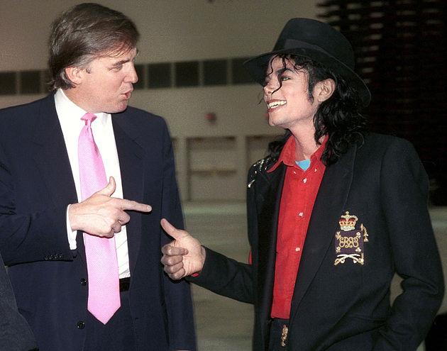 Майкл Джексон и Дональд Трамп