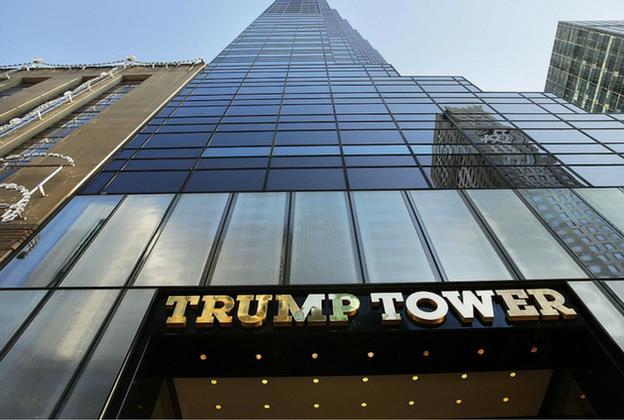 Башня Трампа в Нью-Йорке