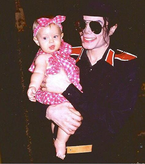 Джексон с дочкой Трампа Тиффани, 1994